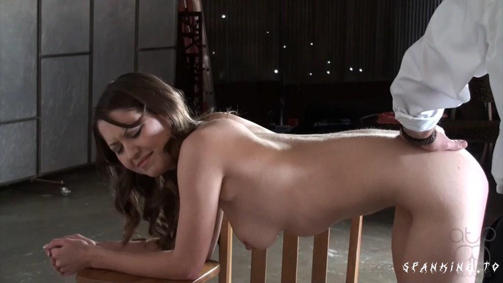 Bare Bottom School Paddling - Varsity Buns- Chrissy Marie - Assumethepositionstudios - HD/720p