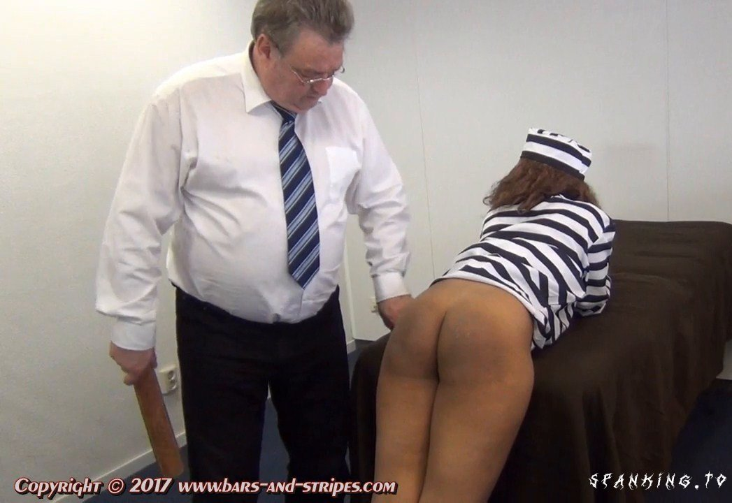 The Masonfield Prison For Women - Strapped For Knicker Smuggling - Episode 5 - Spanked-In-Uniform