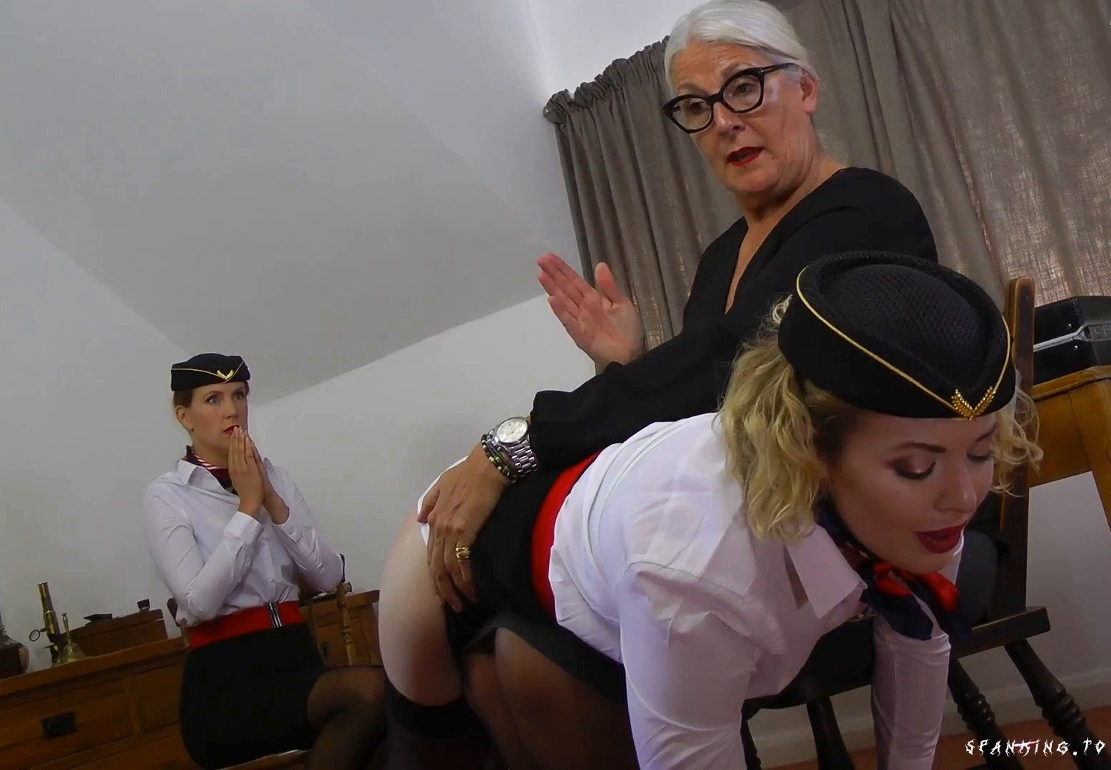 Disciplined by the Auditor (Part 1) - Aaaspanking [Triple A Spanking] - Full HD