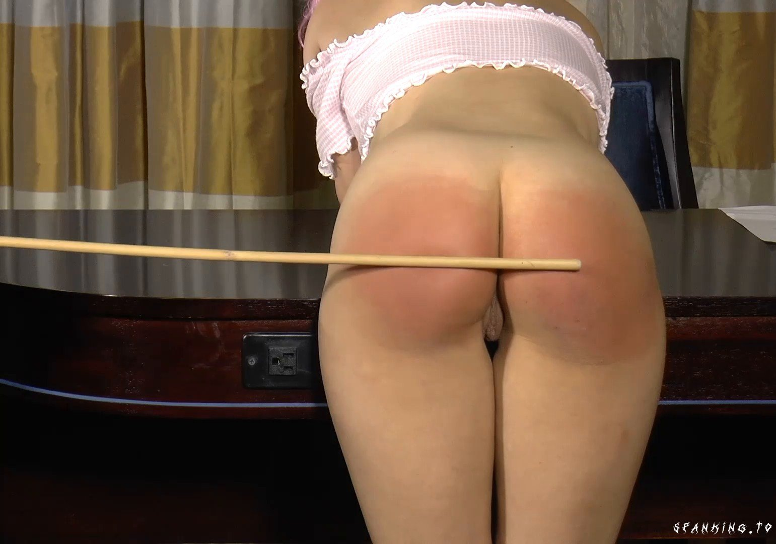 Kiki Spanked And Caned At School (Part 2) - Sarahgregoryspanking - Full HD